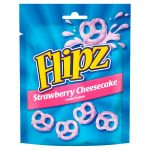 flipz pretzels strawberry 90g