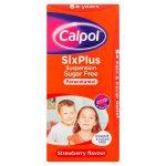 calpol 6+ plus sugar free 80ml