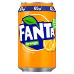 fanta orange 65p 330ml