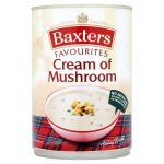 baxters cream of mushroom soup 400g