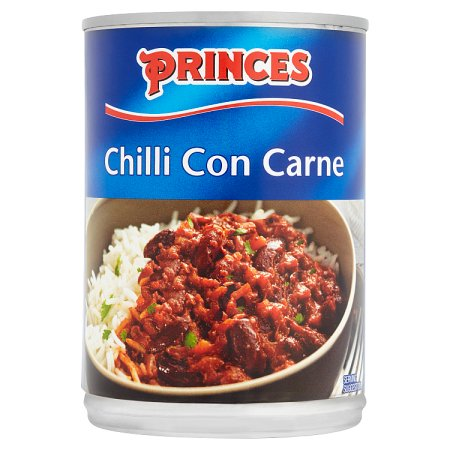 princes chilli con carne 392g