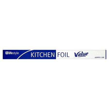 lifestyle value kitchen foil 50p 2m
