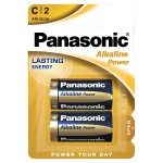 panasonic alkaline c battery 2s