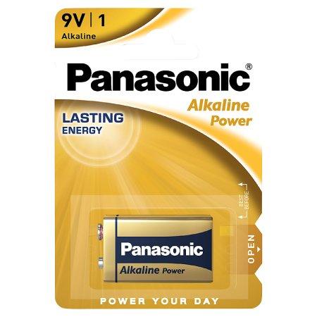 panasonic alkaline 9v battery 1s