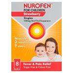 nurofen children strawberry 8s