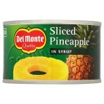 delmonte pineapple slices in syrup 234g