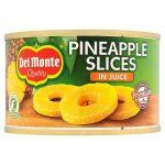 delmonte pineapple slices in juice 220g