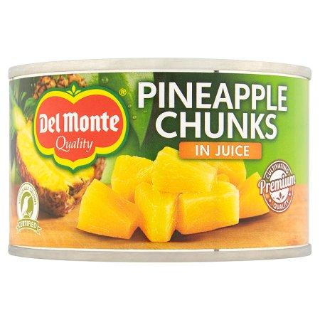 delmonte pineapple chunks in juice 227g
