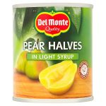 delmonte pear halves in syrup 227g