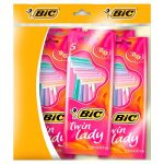 bic twin lady razor 5 pack