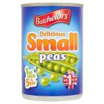 batchelors processed small peas 300g