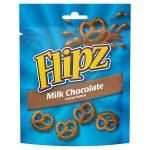 flip milk choc pretzels 100g