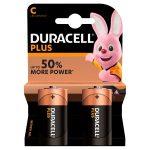 duracell plus c battery 2s