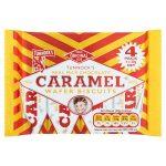 tunnocks caramel wafer [4 pack] 4pk