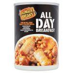 hunger breaks all day breakfast 395g
