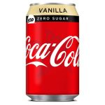 coke vanilla zero 55p cans 330ml