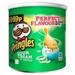 pringles sour cream 69p 40g