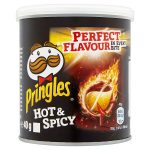 pringles hot & spicy 69p 40g