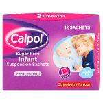 calpol infant sugar free sachets 12s