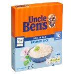 uncle bens boil in bag basmati 250g
