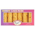 regal cake rusk sugar free 18s