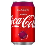 coke cherry can 330ml